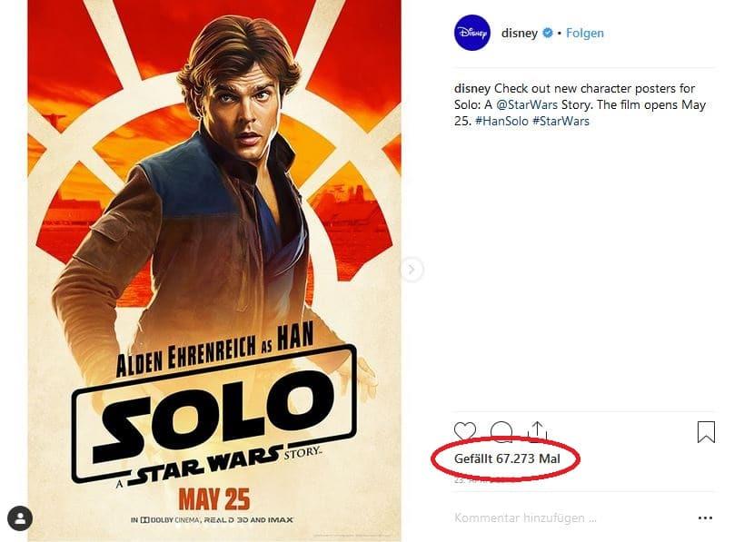Poster Disney Solo