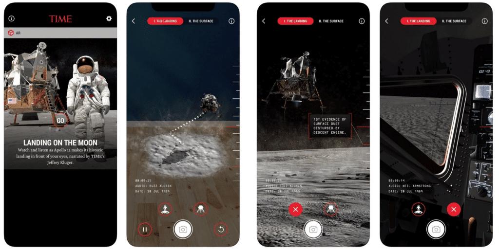 Time App Immersive Marketing