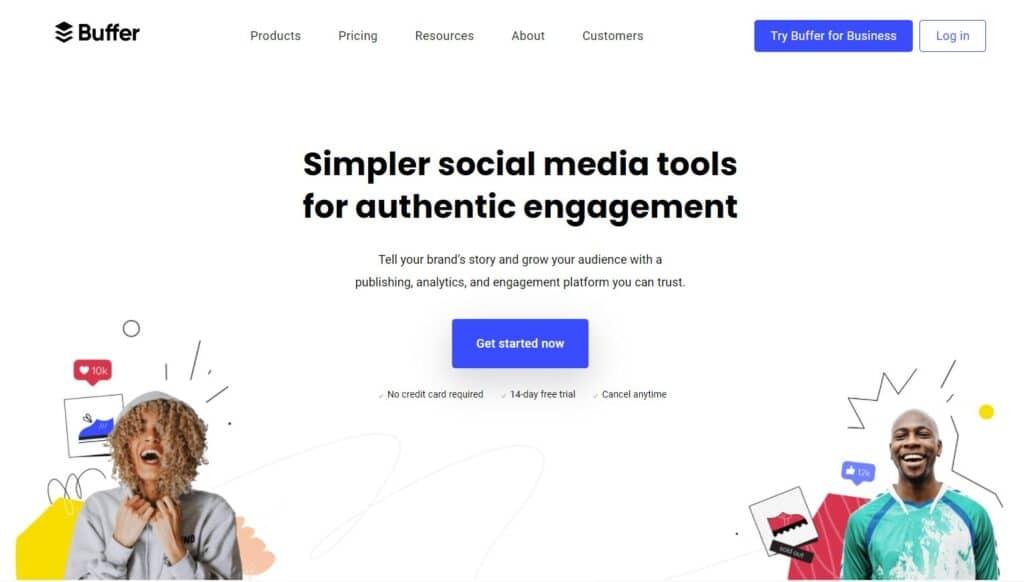 Social Selling Tool Buffer