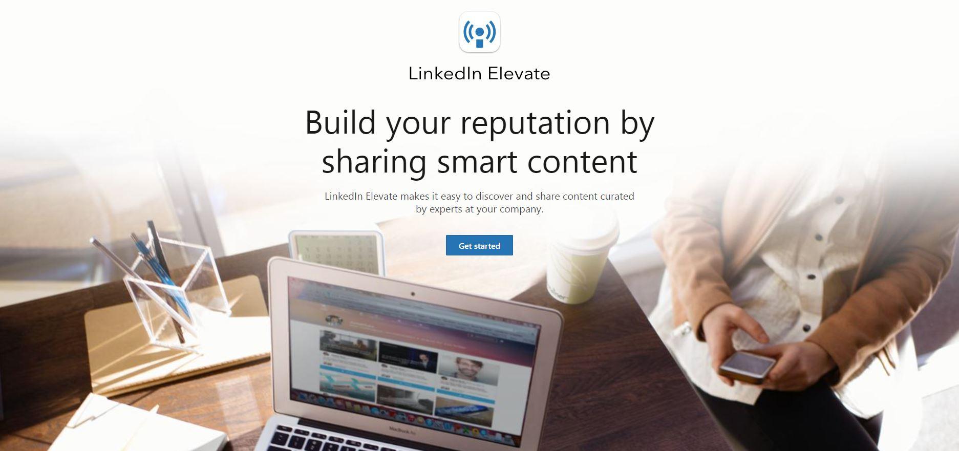 LinkedIn Elevate Employee Advocacy Tools