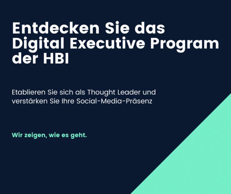 Digital Executive Program